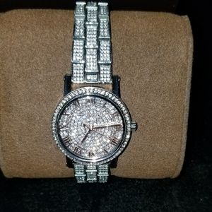 Michael Kors Norie Pave Crystals Watch